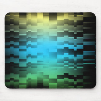 Abstract Sun Sky Ground Mouse Pad