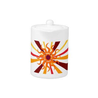 Abstract Sun Teapot