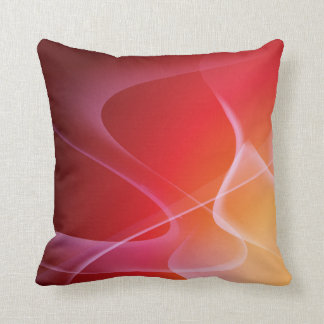 Abstract Sunset American MoJo Pillow