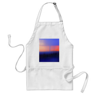 Abstract Sunset Apron