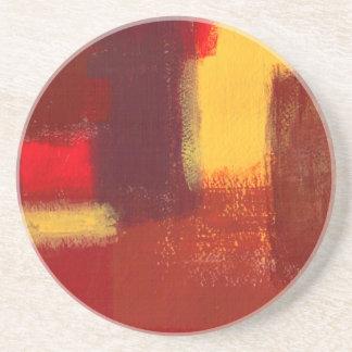 Abstract Sunset Coaster