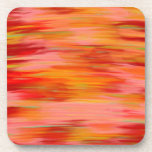 Abstract Sunset Coasters