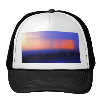 Abstract Sunset Hat