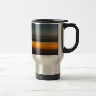 Abstract Sunset in the Sky Travel Mug