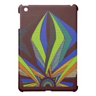 Abstract Sunset iPad Mini Cases