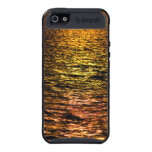 Abstract Sunset on Water Cover For iPhone 5