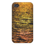 Abstract Sunset on Water iPhone 4 Cover