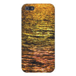 Abstract Sunset on Water iPhone 5 Cover