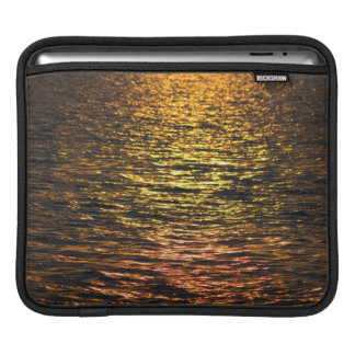 Abstract Sunset on Water Sleeve For iPads