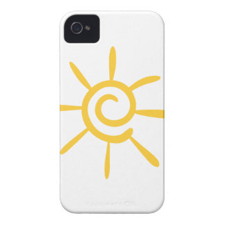 Abstract Sunshine iPhone 4 Cover
