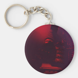 Abstract Superstructure 3 Keychain
