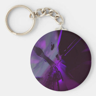 Abstract Superstructure 4 Keychain