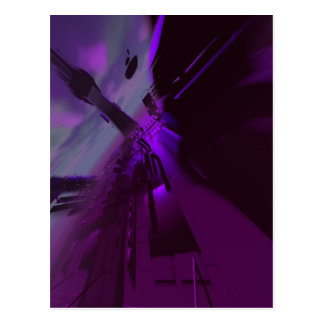 Abstract Superstructure 4 Postcard