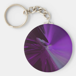 Abstract Superstructure 6 Keychain