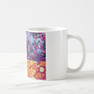 Abstract Surreal Circles Bubbles Orbs Coffee Mug