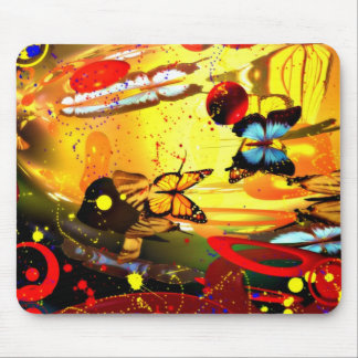 Abstract Surrealism Mouse Pad