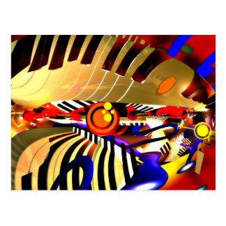 Abstract Surrealism Postcard