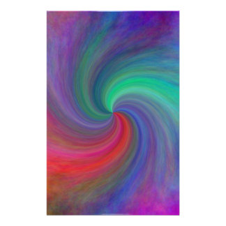 Abstract swirl #12, gifts custom stationery