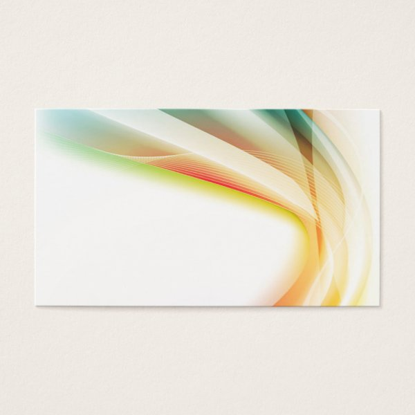 Abstract Swirl 2 Business Card