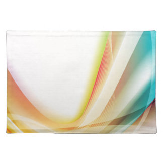 Abstract Swirl 2 Cloth Placemat