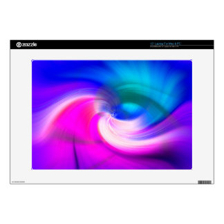 ABSTRACT SWIRL, BRILLIANT BRUSHSTROKES DECALS FOR LAPTOPS