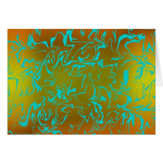 Abstract Swirl Card