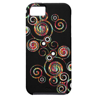 Abstract Swirl iPhone 5 Cases