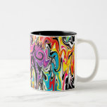Abstract Swirl Coffee Mug