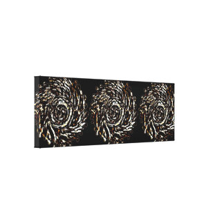 Abstract Swirl Disorder Canvas
