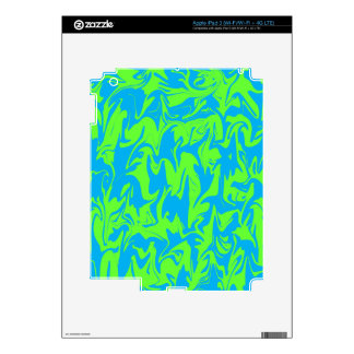 Abstract Swirl iPad 3 Decal
