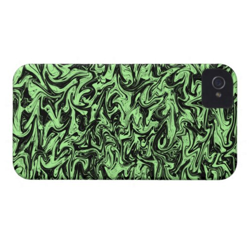 Abstract Swirl iPhone 4 Cover