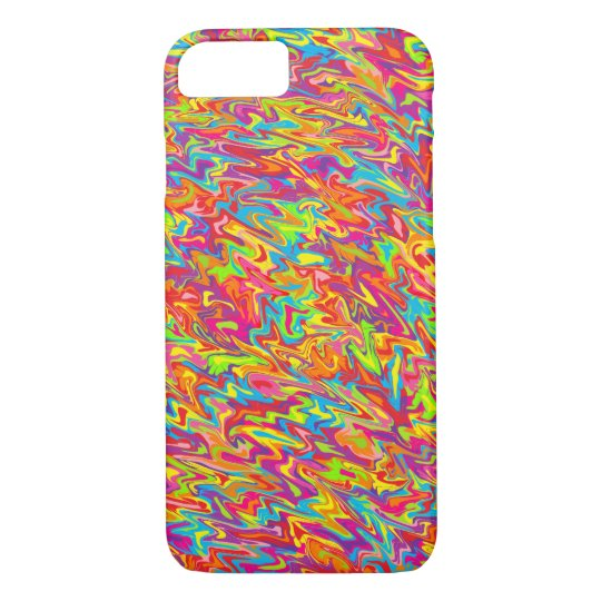 Abstract Swirl iPhone 8/7 Case