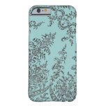 Abstract swirl lace pattern iPhone 6 case