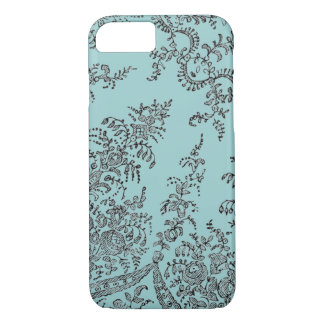 Abstract swirl lace pattern iPhone 7 case