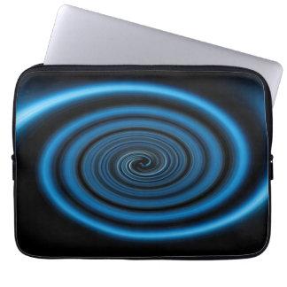 Abstract swirl. laptop sleeve