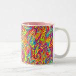 Abstract Swirl Mug