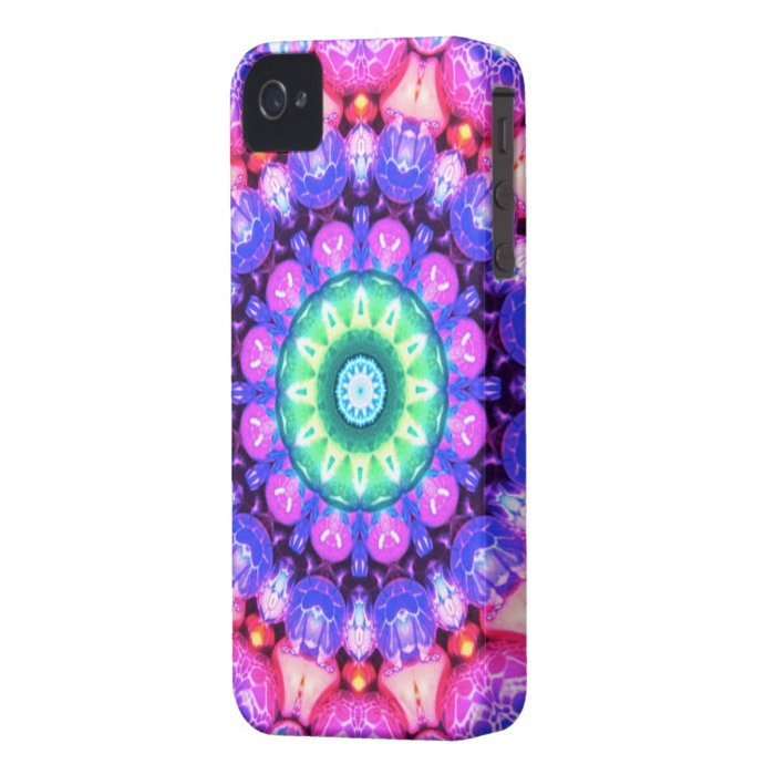 Abstract swirl pattern iPhone 4 Case-Mate case