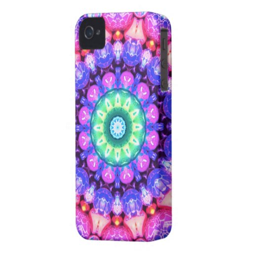 Abstract swirl pattern iPhone 4 covers
