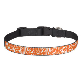 Abstract Swirl Pet Collar
