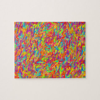 Abstract Swirl Jigsaw Puzzles