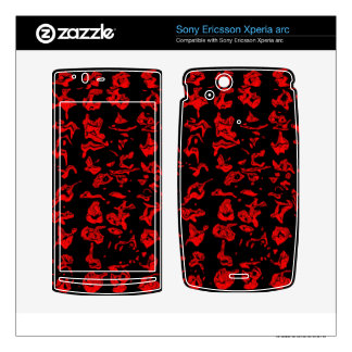 Abstract Swirl Xperia Arc Skins