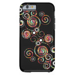 Abstract Swirl Tough iPhone 6 Case