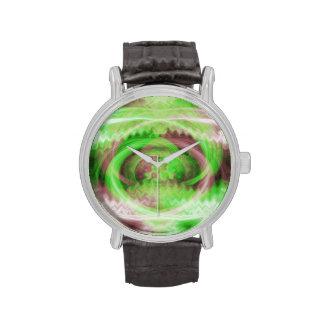 Abstract Swirl Wristwatch
