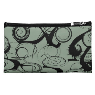 Abstract Swirls And Twirls Makeup Bags