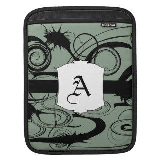 Abstract Swirls And Twirls iPad Sleeve