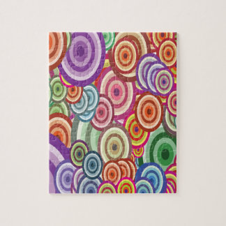 Abstract Swirls Jigsaw Puzzle