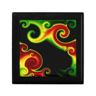 Abstract Swirls Keepsake Box