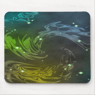 Abstract Swirls Mouse Pad