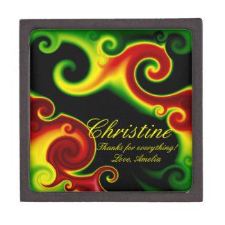 Abstract Swirls Premium Gift Box