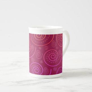 Abstract Swirls Tea Cup